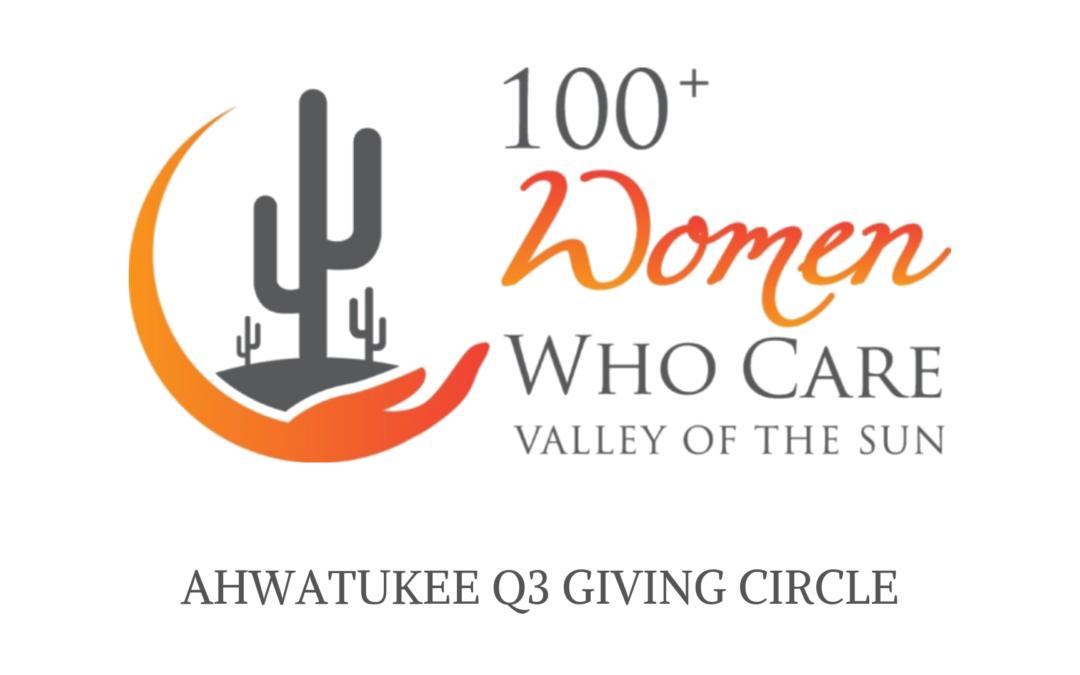3rd Quarter Giving Circle – Ahwatukee